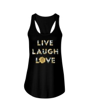 Live Laugh Love Ladies Flowy Tank thumbnail