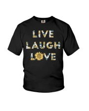 Live Laugh Love Youth T-Shirt thumbnail