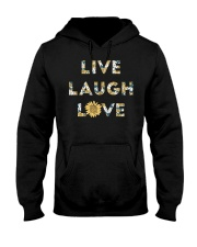 Live Laugh Love Hooded Sweatshirt thumbnail