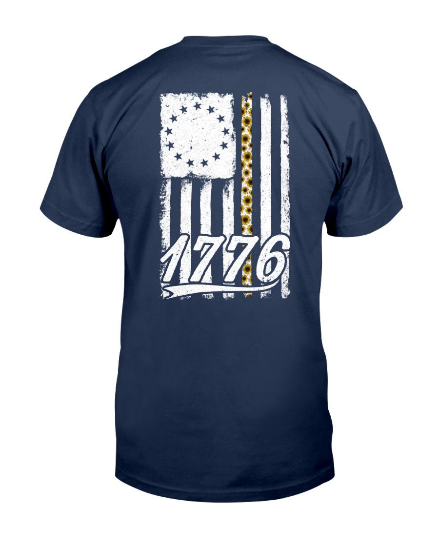 Betsy Ross Flag Sunflower 1776 Classic T-Shirt