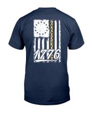 Betsy Ross Flag Sunflower 1776 Classic T-Shirt back