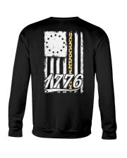 Betsy Ross Flag Sunflower 1776 Crewneck Sweatshirt thumbnail