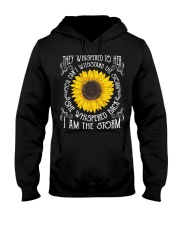 I Am The Storm Sunflower Hooded Sweatshirt thumbnail