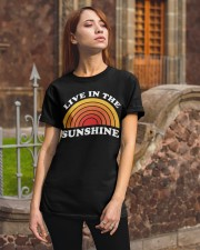 Live In The Sunshine Classic T-Shirt apparel-classic-tshirt-lifestyle-06