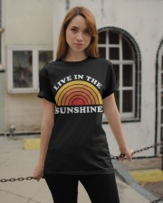 Live In The Sunshine Classic T-Shirt apparel-classic-tshirt-lifestyle-19