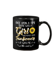 Once Upon A Time There Was A Girl Loved Sunflower Mug thumbnail