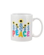 Peace Sunflower Art Mug thumbnail
