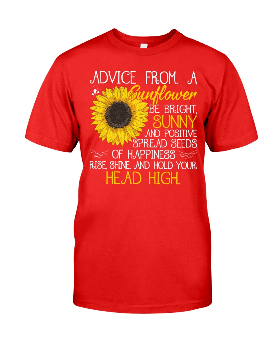 Advice From A Sunflower Classic T-Shirt