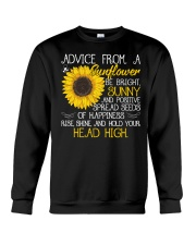 Advice From A Sunflower Crewneck Sweatshirt tile