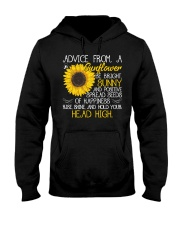 Advice From A Sunflower Hooded Sweatshirt tile