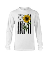 Betsy Ross American Flag Sunflower Long Sleeve Tee thumbnail