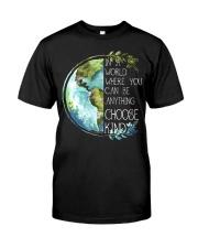 Choose Kind Earth Classic T-Shirt thumbnail