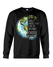 Choose Kind Earth Crewneck Sweatshirt thumbnail