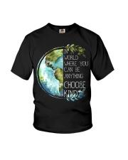 Choose Kind Earth Youth T-Shirt thumbnail