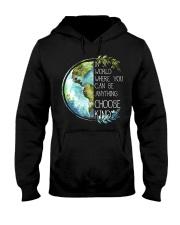 Choose Kind Earth Hooded Sweatshirt thumbnail