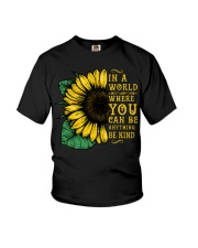 In A World Wherer You Can Be Anything Be Kind Youth T-Shirt thumbnail