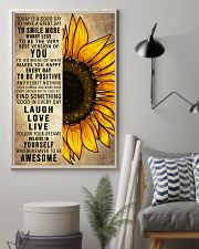 Today Is A Good Day To Have A Great Day Sunflower 16x24 Poster lifestyle-poster-1