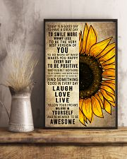 Today Is A Good Day To Have A Great Day Sunflower 16x24 Poster lifestyle-poster-3
