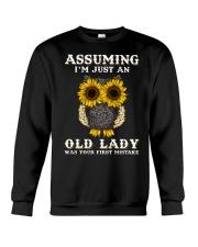 Assuming I'm Just An Old Lady Crewneck Sweatshirt thumbnail