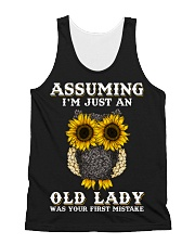 Assuming I'm Just An Old Lady All-over Unisex Tank thumbnail