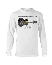 Whisper Words Of Wisdom Let It Be Guitar Lake Long Sleeve Tee thumbnail