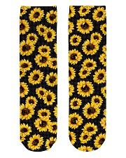 Sunflower Bloom Crew Length Socks thumbnail