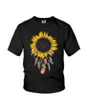 Dream Catcher Sunflower Youth T-Shirt thumbnail