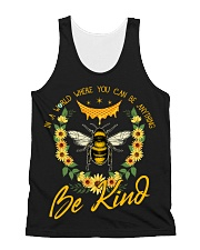 In A World Where You Can Be Anything Be Kind All-over Unisex Tank thumbnail
