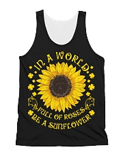 Be A Sunflower All-over Unisex Tank thumbnail