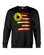Sunflower USA Grunge Flag Crewneck Sweatshirt tile