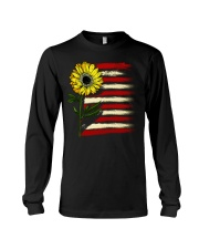 Sunflower USA Grunge Flag Long Sleeve Tee tile