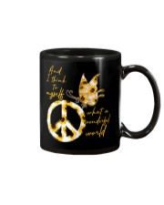 What A Wonderful World Butterfly Sunflower Mug thumbnail