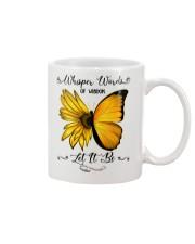 Whisper Words Of Wisdom Let It Be Sunflower Mug thumbnail