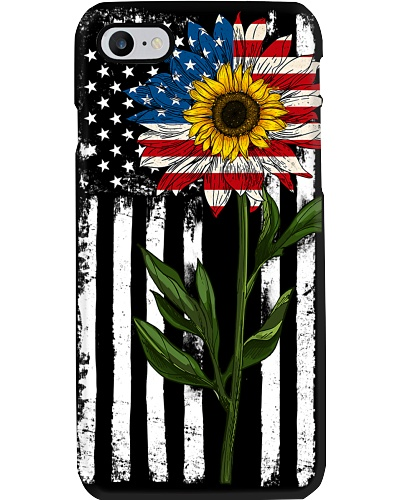 American Flag Sunflower No2