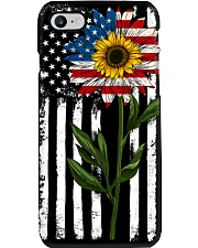 American Flag Sunflower No2 Phone Case thumbnail