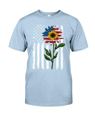 American Flag Sunflower No2