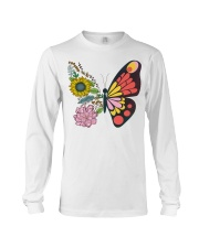 Flowers Butterfly Long Sleeve Tee tile