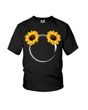 Sunflowers Circle Youth T-Shirt tile