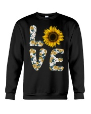 Love Sunflower Crewneck Sweatshirt thumbnail