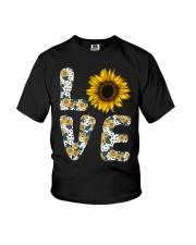 Love Sunflower Youth T-Shirt thumbnail