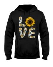 Love Sunflower Hooded Sweatshirt thumbnail