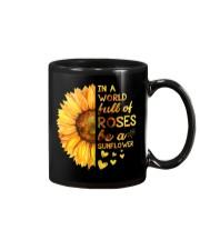 In A World Full Of Roses Be A Sunflower Mug thumbnail