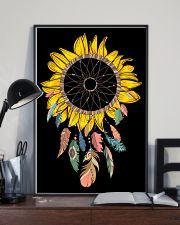 Dream Catcher Sunflower 16x24 Poster lifestyle-poster-2