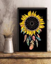 Dream Catcher Sunflower 16x24 Poster lifestyle-poster-3