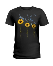 Peace Love Music Ladies T-Shirt thumbnail