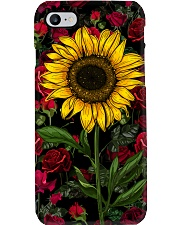 Sunflower And Roses Phone Case tile