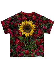 Sunflower And Roses All-over T-Shirt back
