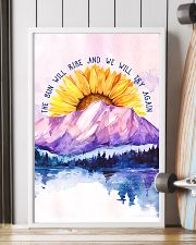 The Sun Will Rise And We Will Try Again 11x17 Poster lifestyle-poster-4