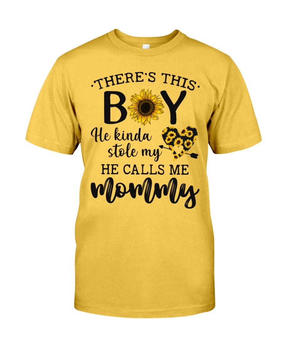 There's This Boy He Kind Stole My Heart Classic T-Shirt