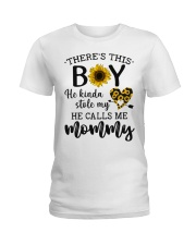 There's This Boy He Kind Stole My Heart Ladies T-Shirt thumbnail